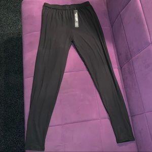 Leggings depot NWT plus size black leggings 💋